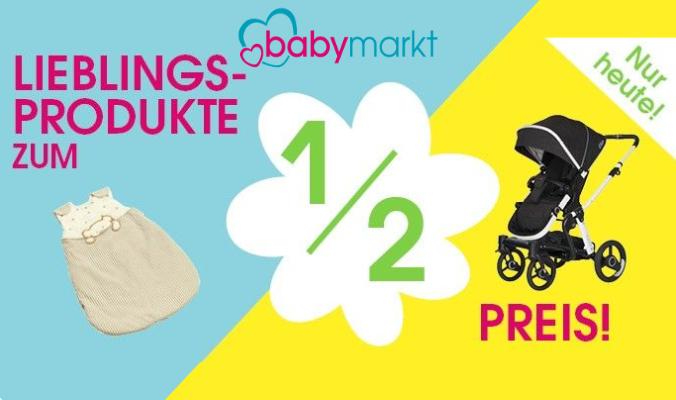 babymarkt halber Preis