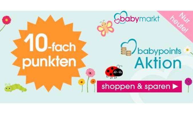 babymarkt Punkte sammeln babypoints