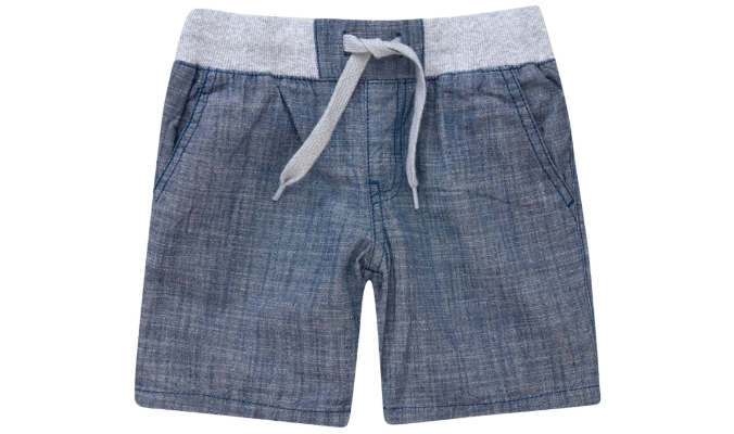 Jungen Shorts mit Rippenbund
