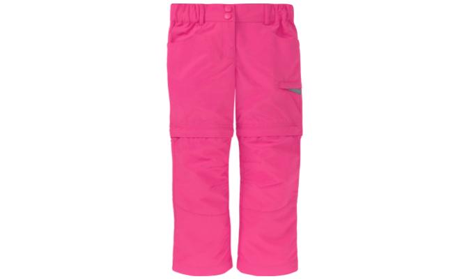 Pinke Trekking-Hose