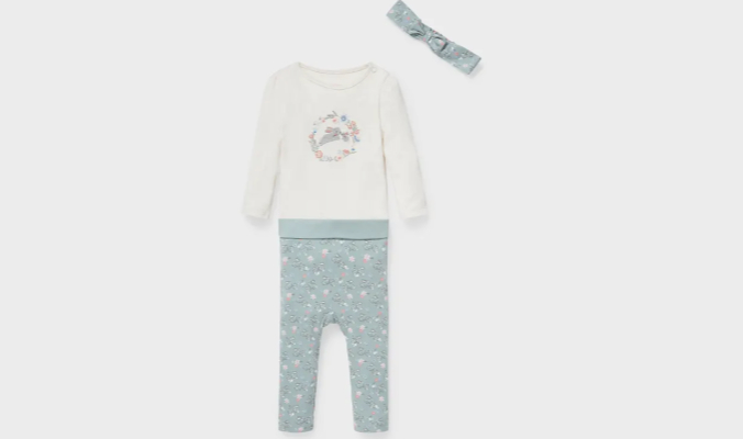 Baby-Outfit - Bio-Baumwolle