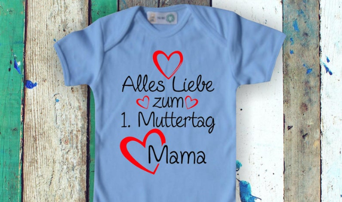 Baby Body Babybody Alles Liebe zum 1. Muttertag Mama