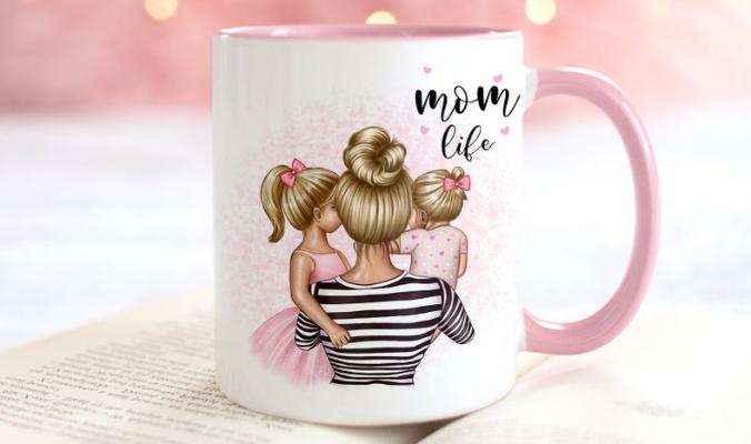 Personalisierte Tasse Muttertag