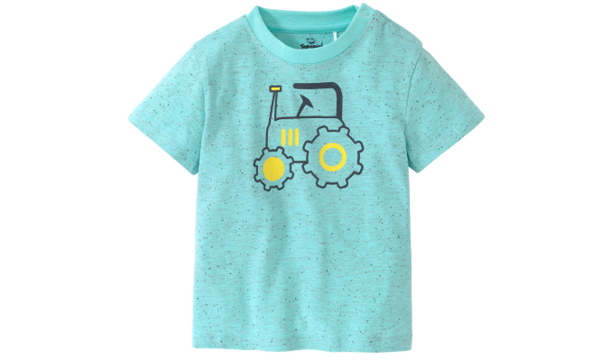 Baby T-Shirt mit Trecker-Motiv