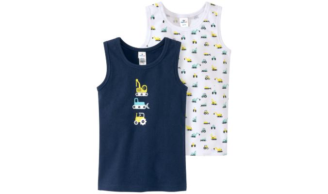 2 Baby Unterhemden