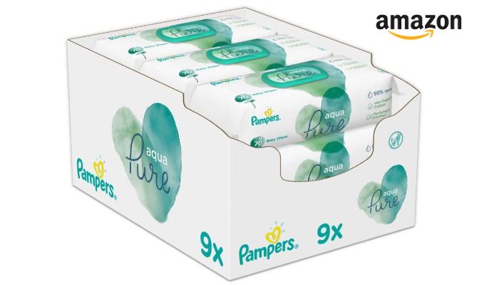 Pampers Baby Feuchttücher Aqua Pure