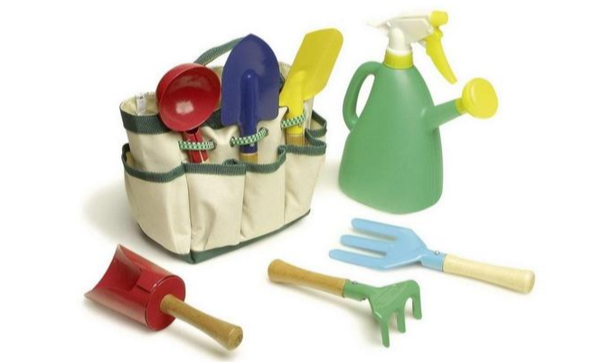 Gartengeräte Set mit Tasche