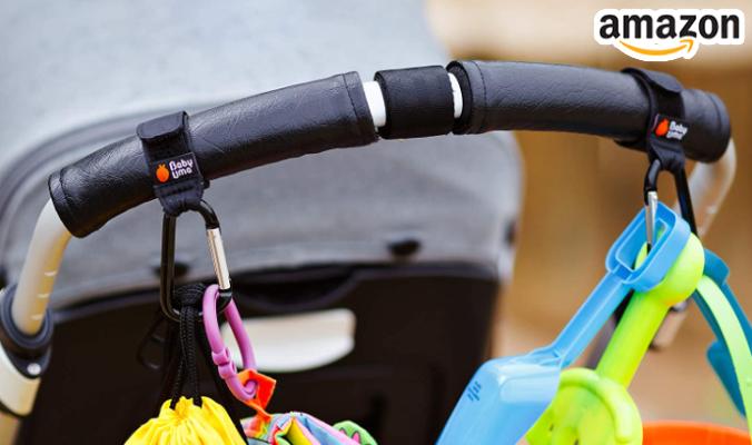 Haken für Kinderwagen