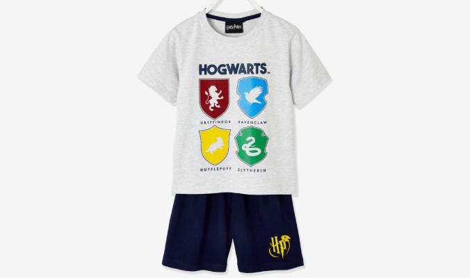 Kurzpyjama Harry Potter