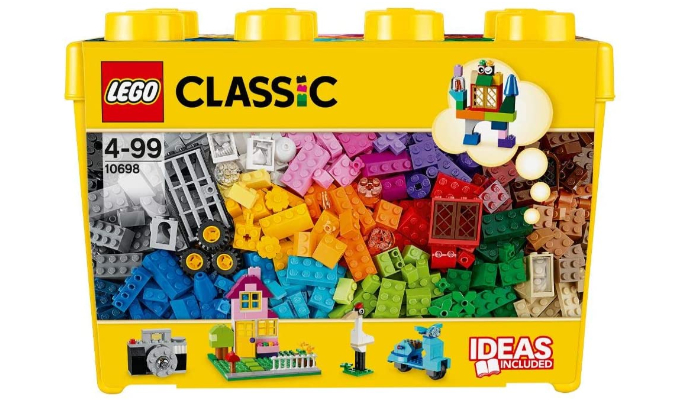 Große kreative Bausteine-Box Lego