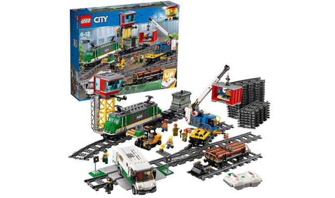 LegoCity Güterzug, Set