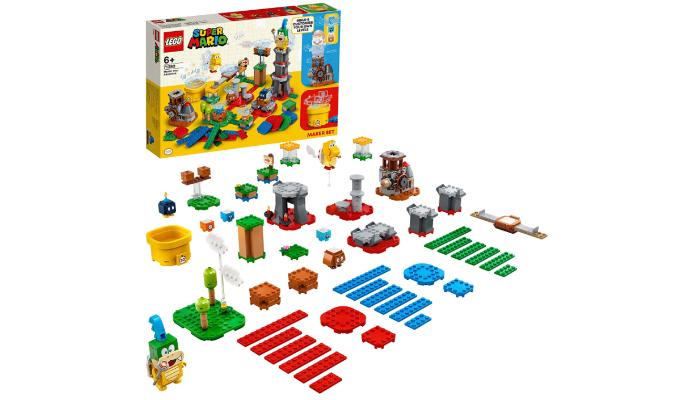Super Mario Baumeister-Set Lego