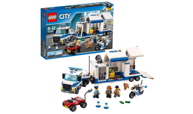 City Polizei Mobile Einsatzzentrale Lego
