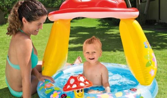 Intex BabyPool ''Mushroom'' mit Sonnenschutz