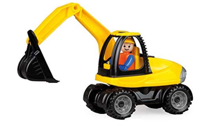 Spielfahrzeug Schaufelbagger