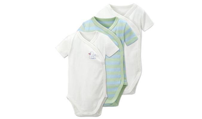 3er Set Baby Bodies