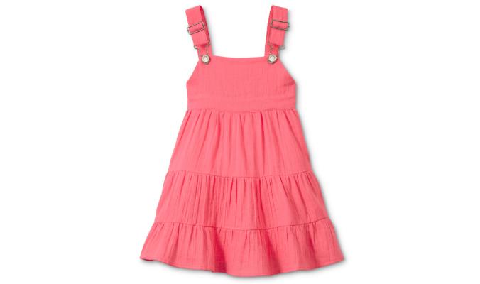 Trägerkleid rosa