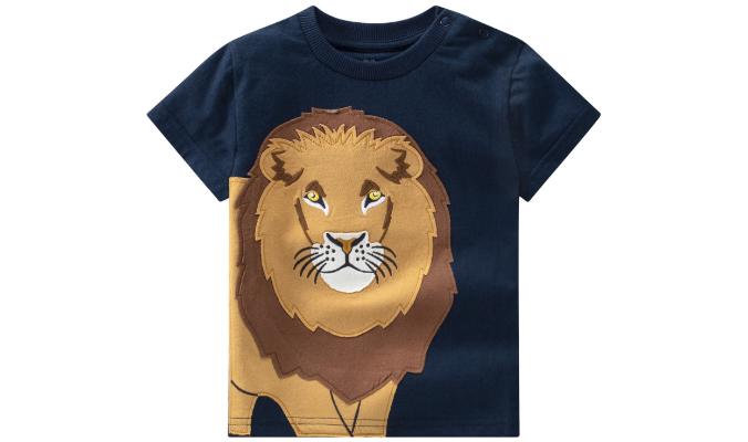 Baby T-Shirt mit Löwen