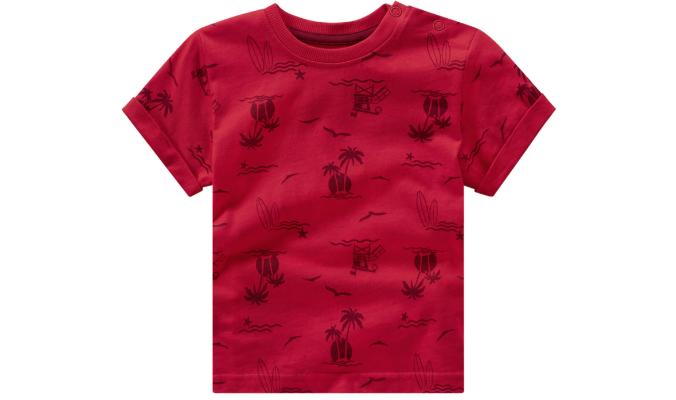 Baby T-Shirt mit Palmen-Print