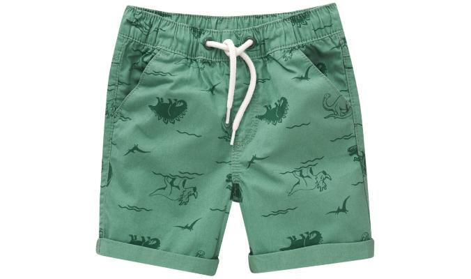 Baby Shorts mit Dino-Motiven