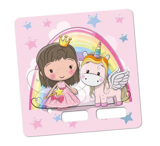 Toniebox Sticker Prinzessin und EInhorn