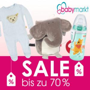 Bis zu 70% Rabatt Sale bei babymarkt
