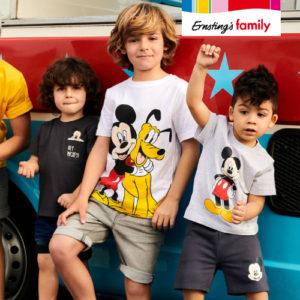 Neu: Kindermode mit Mickey & Minnie Maus ab 6,99€ bei Ernsting's Family
