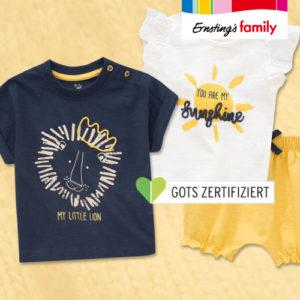 Ab 5,99€ neue Sommerkollektion bei Ernsting's Family