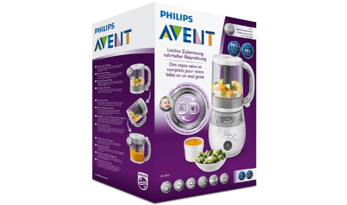 Philips Avent 4-in-1-Babynahrungszubereiter