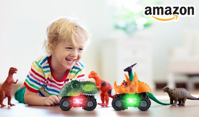 Dinosaurier Autos