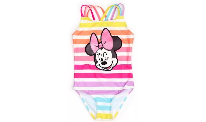 Minnie Maus - Badekostüm für Kinder