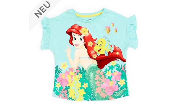 Arielle, die Meerjungfrau - Pastellfarbenes T-Shirt