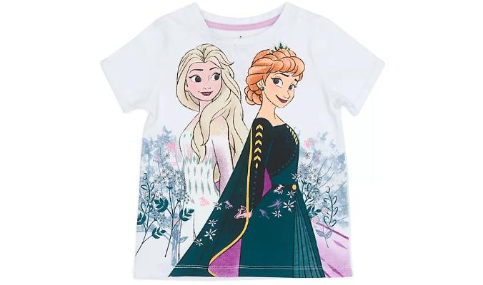 Die Eiskönigin 2 - Anna und Elsa - T-Shirt für Kinder