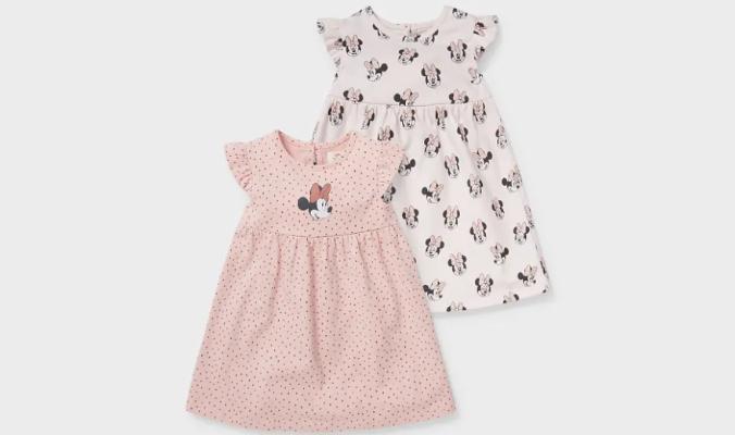 Minnie Maus - Multipack 2er - Baby-Kleid -