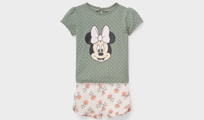 Minnie Maus - Baby-Outfit