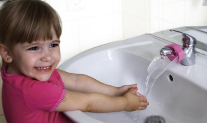 Aqueduck Wasserhahnverlängerung