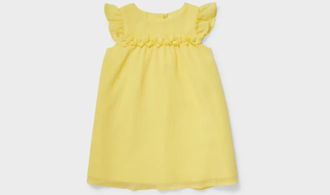 Baby-Chiffon-Kleid