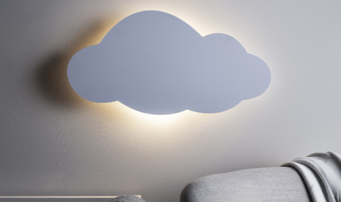 LED Wolke Nachtlicht Batterie mit Fernbedienung