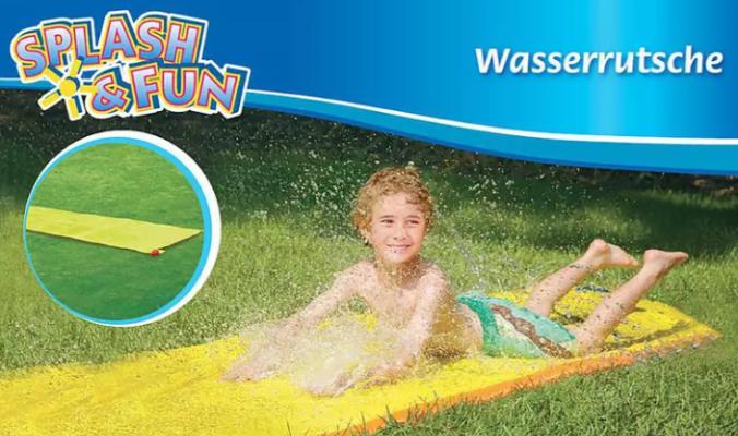Splash & Fun Wasserrutsche