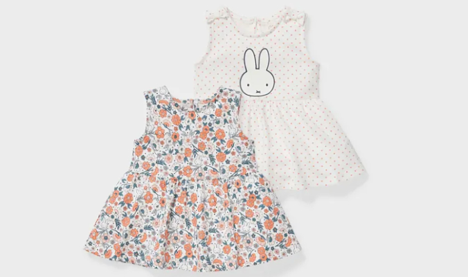 2er - Miffy - Baby-Tanktop
