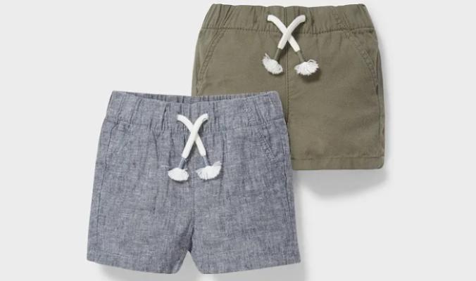 2er - Baby-Shorts