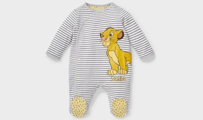 Der König der Löwen - Baby-Schlafanzug - Bio-Baumwolle