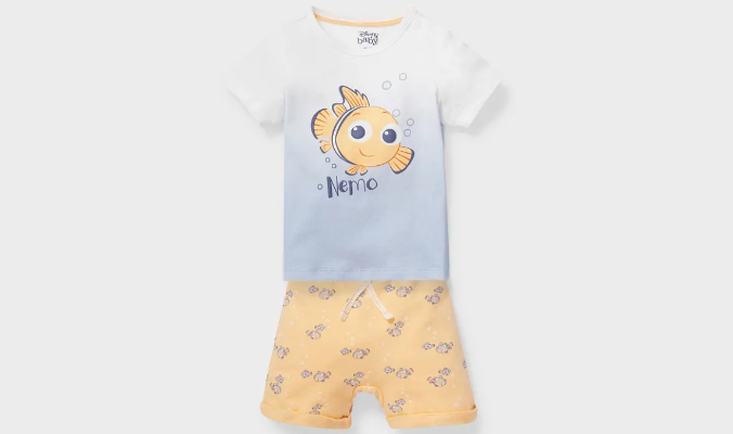 Nemo - Baby-Outfit - Bio-Baumwolle