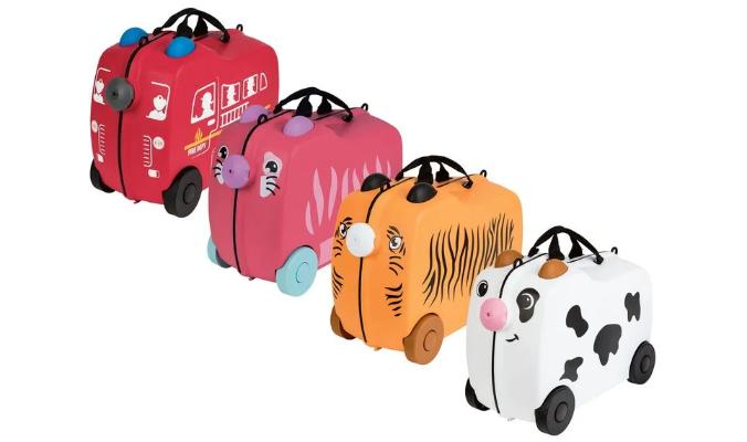 Kinder-Reisekoffer, 18l, mit Sitzmulde