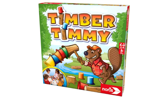 Timber Timmy Geschicklichkeitsspiel