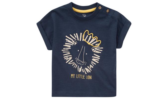 Baby T-Shirt mit Löwen-Print