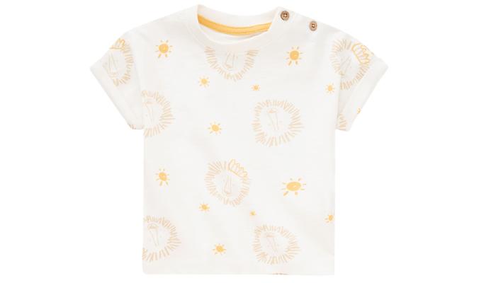 Baby T-Shirt mit Löwen-Allover
