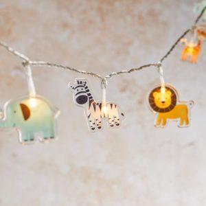 Zootier Lichterkette