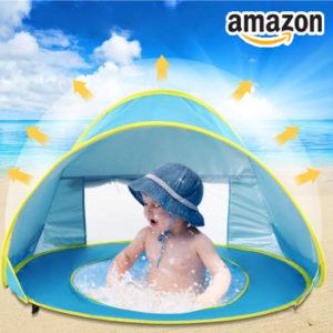 Ab 16,99€ Strandzelte für Babys bei Amazon