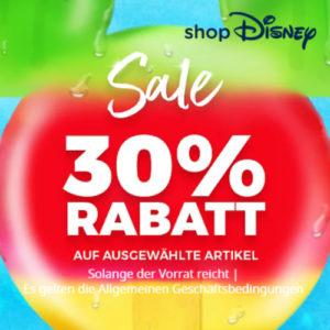 30% Sale im Disneystore